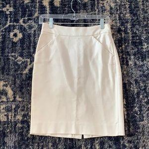 NWOT J. Crew Pencil Skirt 100% Cotton